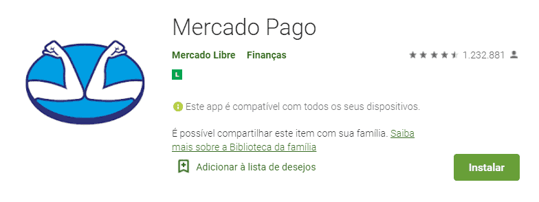 box do mercado pago na google play.