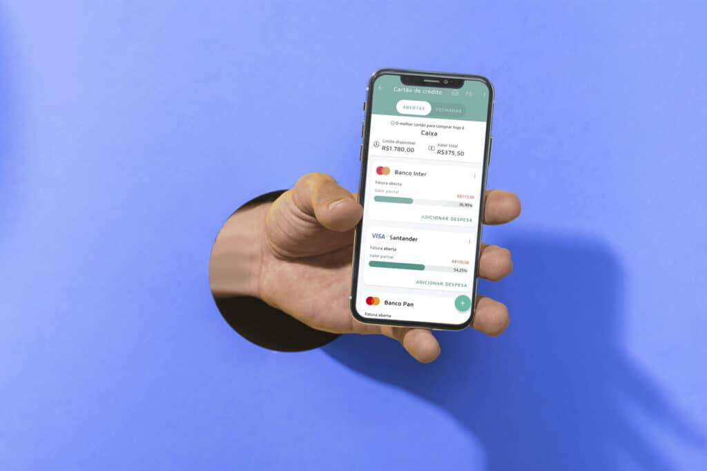 Mobills cartão de crédito