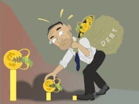 Figura simbolizando o tema como sair das dívidas rapidamente