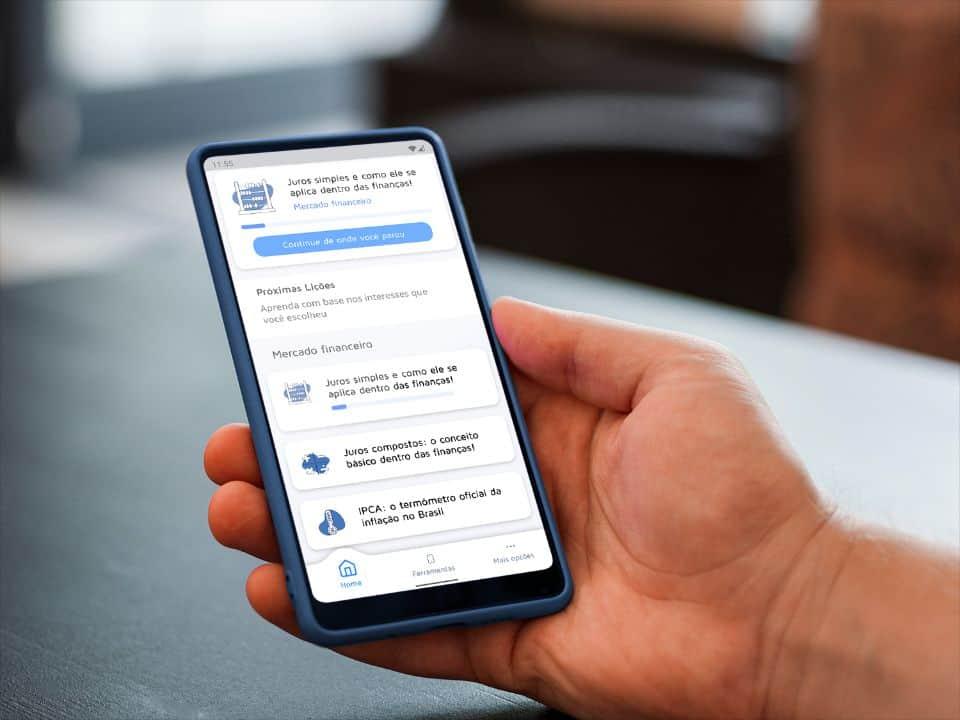 MobillsEdu app: aprenda conceitos de educação financeira em até 5 minutos