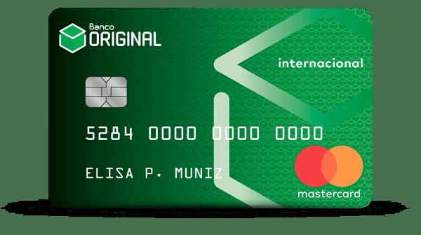 cartão original sem anuidade