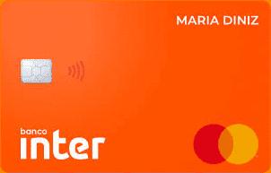 Cartão de crédito Inter sem anuidade