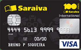 Cartão Saraiva sem anuidade