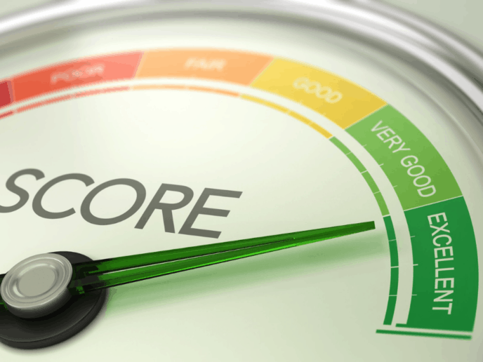 Imagem que representa o score de crédito