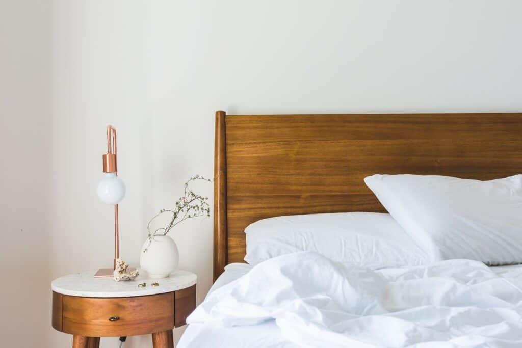 Cabeceira de cama DIY