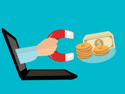 Imagem ilustrativa de como ganhar dinheiro na internet por meio de sites para ganhar dinheiro