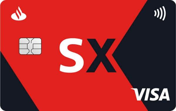 Cartão de crédito Santander SX