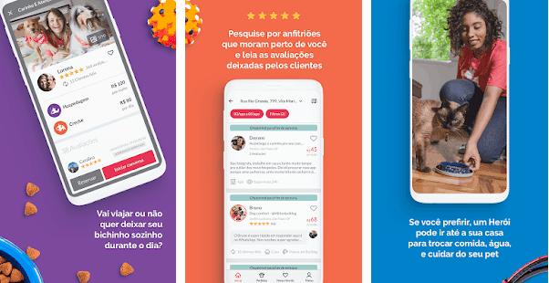 App que serve para ganhar dinheiro como cuidador de pet
