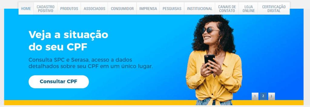 Verificação de CPF pelo nome no SPC Brasil