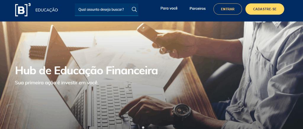 Cursos de finanças da B3