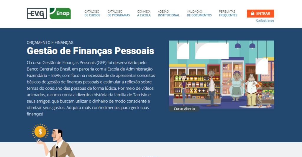 Curso de finanças pessoais do Banco Central