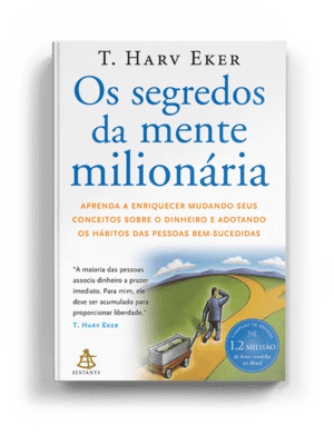 Livro os segredos da mente milionária para lidar com as finanças pessoais