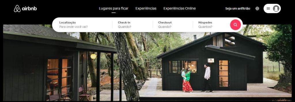 Site do Airbnb para ganhar dinheiro online