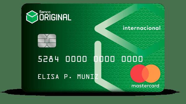 Cartão de crédito banco originial