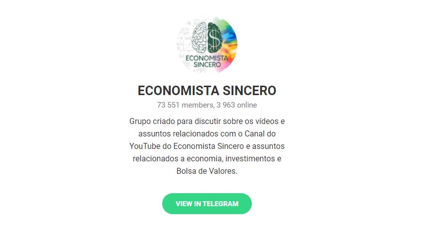 Economista Sincero - Telegram