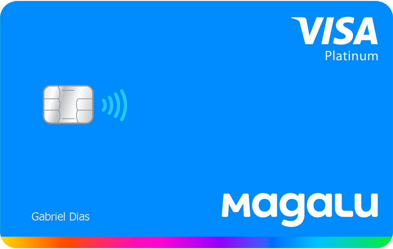 Cartão Magalu Itaucard Platinum