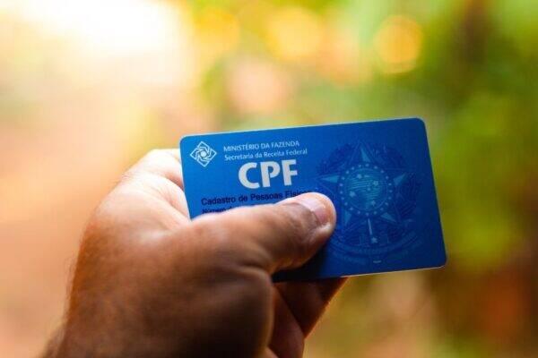 Imagem de um cpf regular