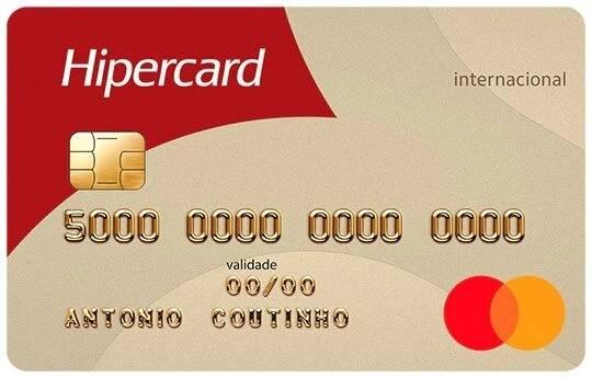 Cartão Hipercard Internacional