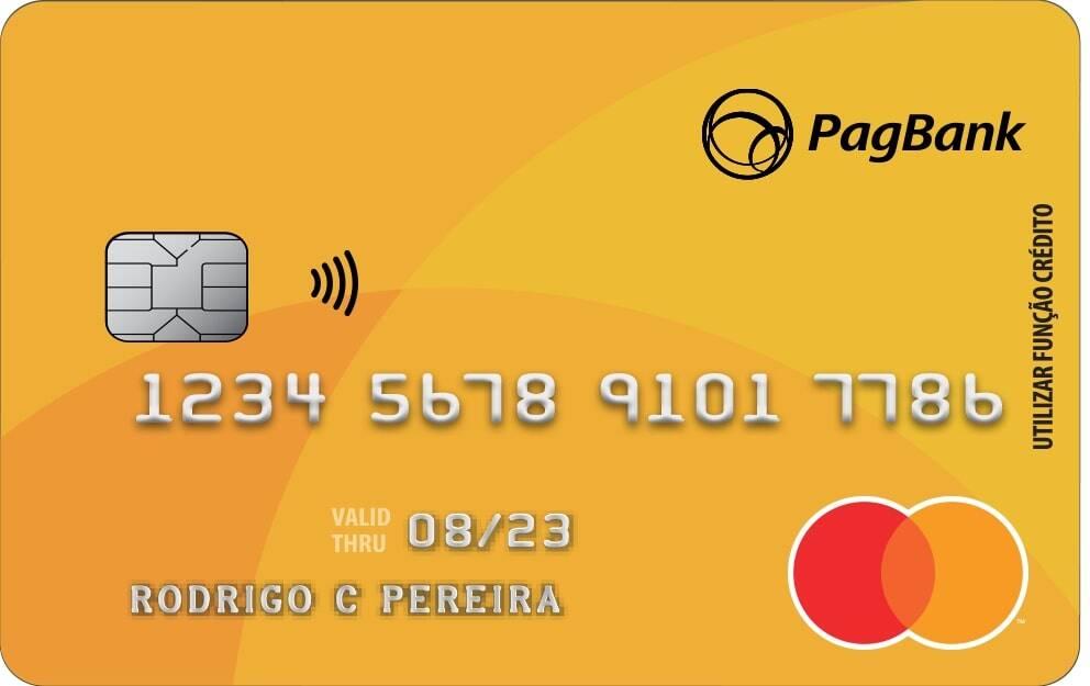 Cartão Pré-Pago Mastercard PagBank