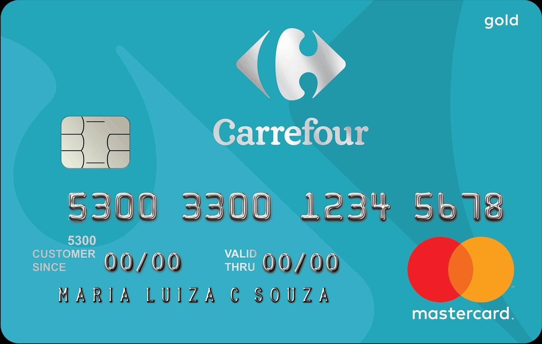 Cartão de Crédito Carrefour Gold