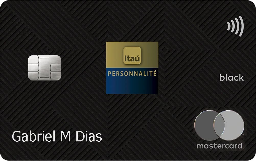 Itaú Personnalité Mastercard Black