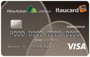 Pão de Açúcar Mais Itaucard Visa Internacional