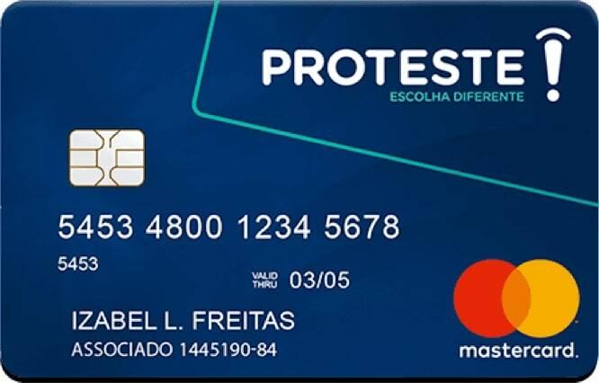 Pré-pago Proteste Mastercard