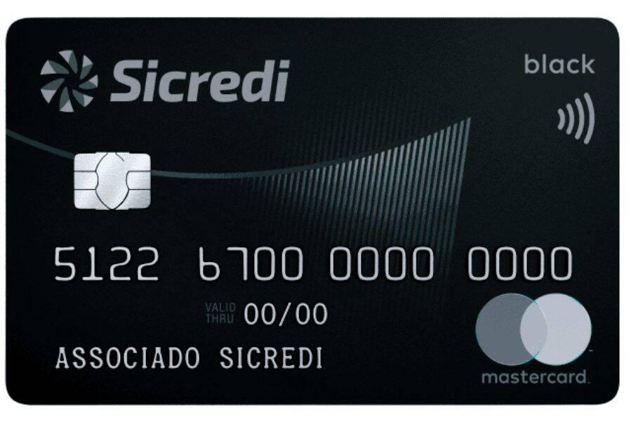 Cartão Mastercard Sicredi Black
