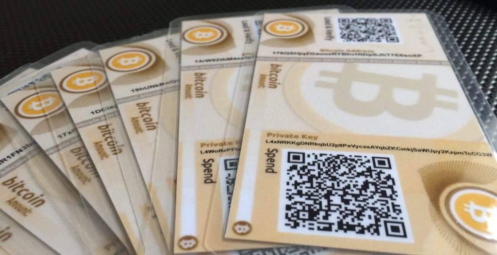 paper wallet para guardar bitcoin
