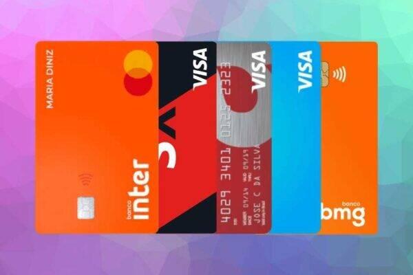 Imagem representando tipos de cartão de crédito aprovado com score baixo