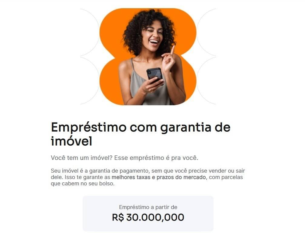 Site do Inter para empréstimo