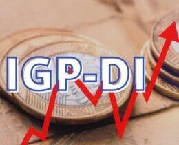 Tabela IGP-DI 2021 (Índice Geral de Preços – Disponibilidade Interna)