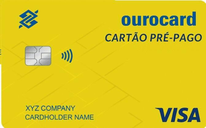 Ourocard Empresa Pré Pago