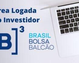 Investidor na B3 – O que é a Área Logada? (Substituta do CEI)